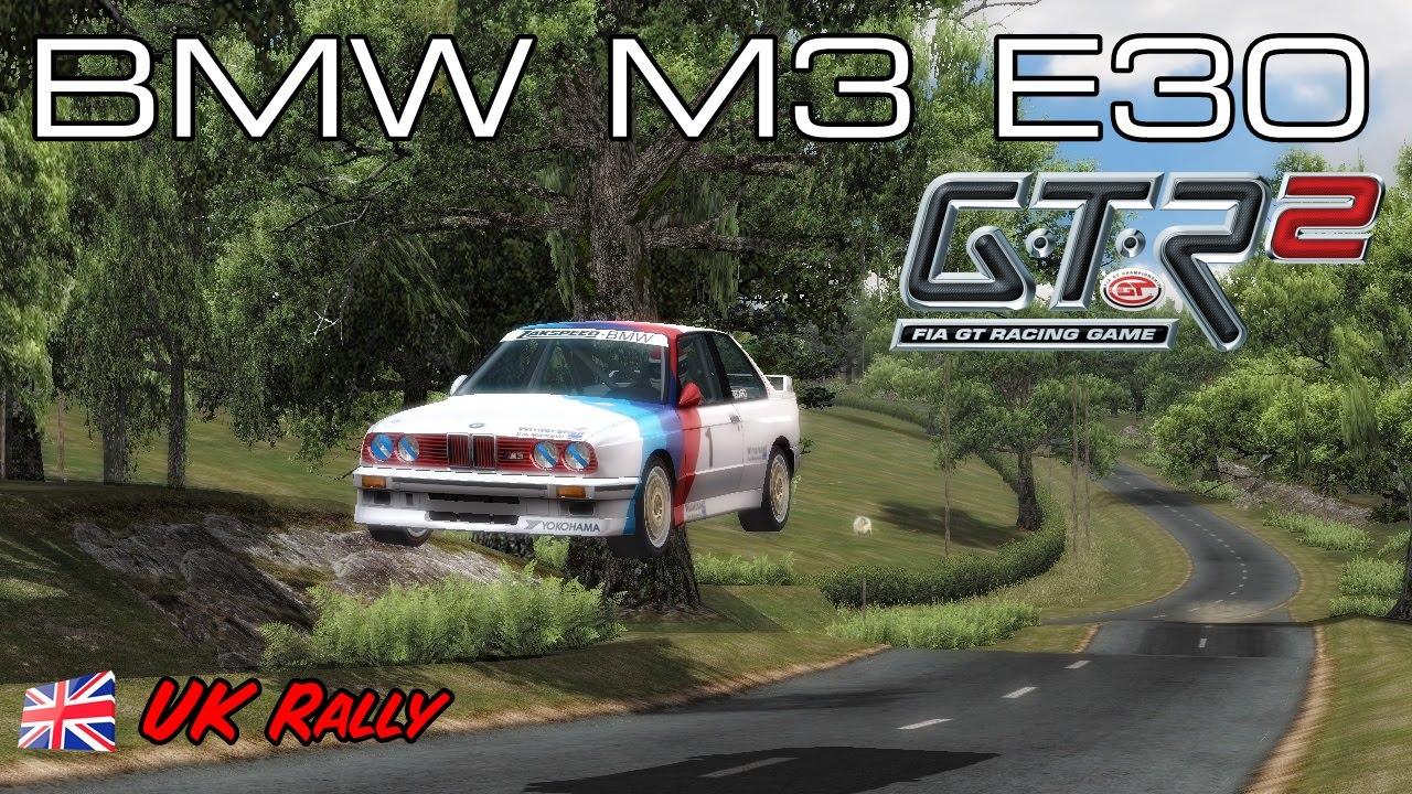 GTR2] Team UK BMW M3 E30 @ UK Rally (WTCC 1987) - YouTube