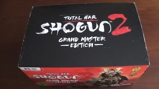 Unboxing#52 - Shogun 2: Total War - Grand Master Edition