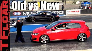 Old vs. New: 1999 Porsche 911 vs. 2016 VW GTI Drag Race - Project Porsche Ep. 6
