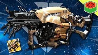Anarchy - Raid Exotic Grenade Launcher | Destiny 2 Black Armory