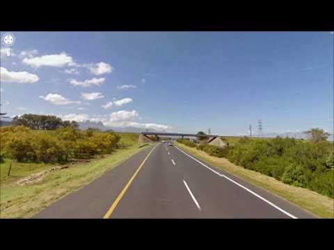 Part 1 - Cape Town to Hermanus :: N2 Street View Project