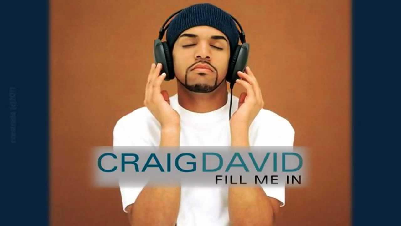 Craig david fill me in video