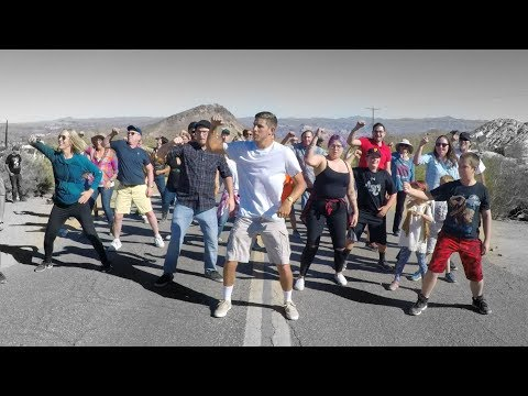 Ditch - Guy Decides To Film Himself Dancing With People From All Over