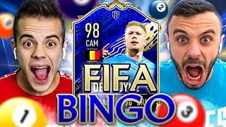 🎱 FIFA BINGO con TEAM OF THE YEAR!!! | Enry Lazza vs Fius Gamer