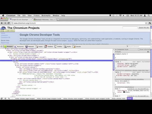 Enable Web Developer Extensions in Chrome, Safari, iOS