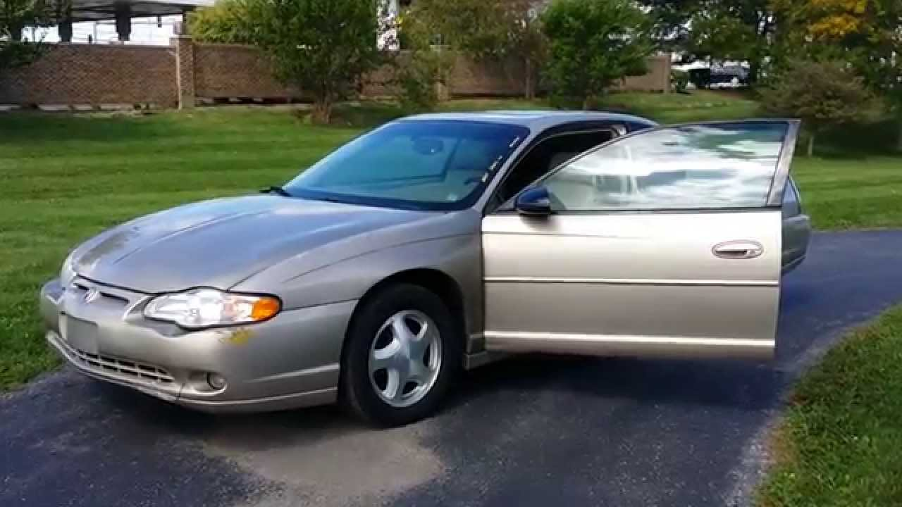 2003 monte carlo ss for sale 133k miles from youtube. Black Bedroom Furniture Sets. Home Design Ideas