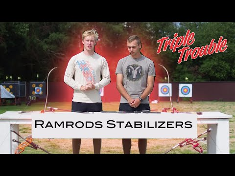 RAMRODS STABILISERS with STEVE WIJLER - Triple Trouble Archery