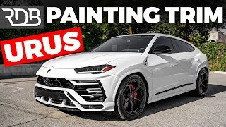#RDBLA LAMBORGHINI URUS PAINT MATCHED, INDIGO BLUE G WAGON.