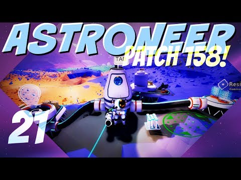 ASTRONEER Patch 158: Ep 21 ► Zebra Ball + Dynamite = ???  (Let's Play Series)