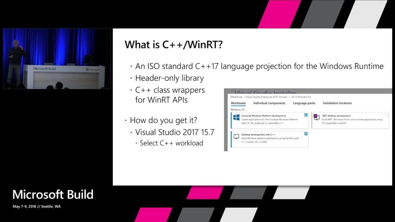 Introduction to C++/WinRT - Windows UWP applications