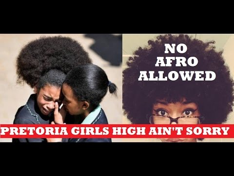 Pretoria Girls High Students Protest to Wear Natural Hair