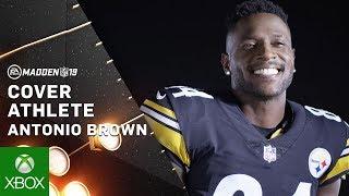 Madden 19 - Antonio Brown Cover Athlete