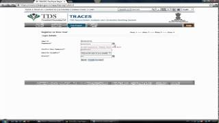 How to register as a tax payer on TRACES