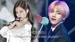 Download Taehyung reaction to jennie SOLO | Golden Disc Award 2019