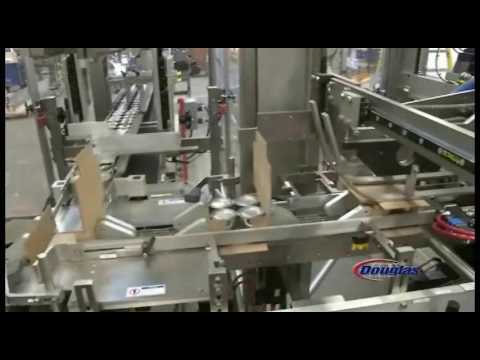 Douglas Machine Wrap Around Case Packer For Paint Cans -  Axiom®IM