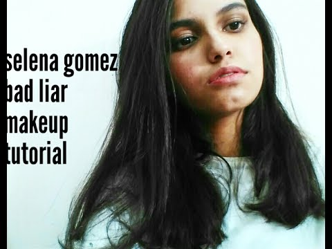 selena gomez bad liar makeup tutorial