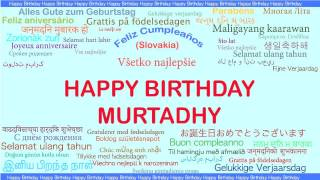 Murtadhy   Languages Idiomas - Happy Birthday