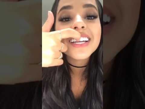Becky G Facebook Live (March 8, 2017) International Women's Day