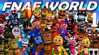 ГОРОД АНИМАТРОНИКОВ! ► FNAF world Прохождение |1|