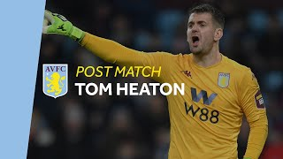 POST MATCH | Tom Heaton on a disappointing afternoon