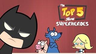 Lustige Superhelden-Parodie Cartoon - Top-Superhelden-Ranking (Marvel, DC Parodie)