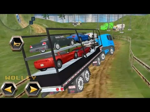 Big Euro Truck Parking Legend (By Prism Games) Android Gameplay HD - Truck Transportation Simulator