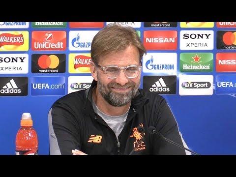 Jurgen Klopp Full Pre-Match Press Conference - Liverpool v Manchester City - Champions League