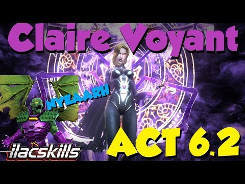 Claire Voyant (Black Widow) Making Act 6.2 Fun! This Even Possible? | Marvel Contest Of Champions