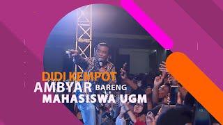 Didi Kempot Ambyar di UGM Yogyakarta