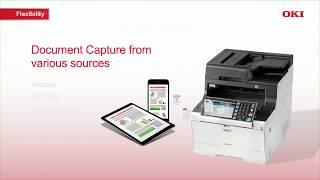 OKI MC573dn A4 Multi-Functional Printer
