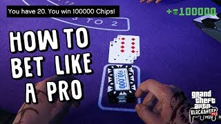 Blackjack Betting Tips With A REAL DEALER! - Diamond Casino Odds - GTA 5 Online