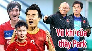 HLV Park Hang Seo & 3 vũ khí Quang Hải - Văn Toàn - Tuấn Anh vs UAE