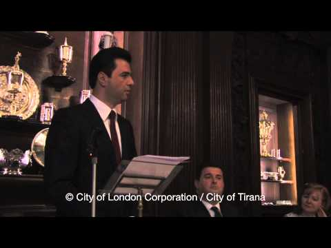 Speech of City of Tirana Mayor Lulzim Basha in London celebrating Albanian-British relations