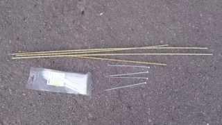 вязка композитной арматуры при помощи пластиковых хомутов(Вязка каркаса из композитной арматуры диаметром 6мм при помощи монтажных стяжек 3,6х200 мм. Не требует особых..., 2014-07-09T05:03:15.000Z)