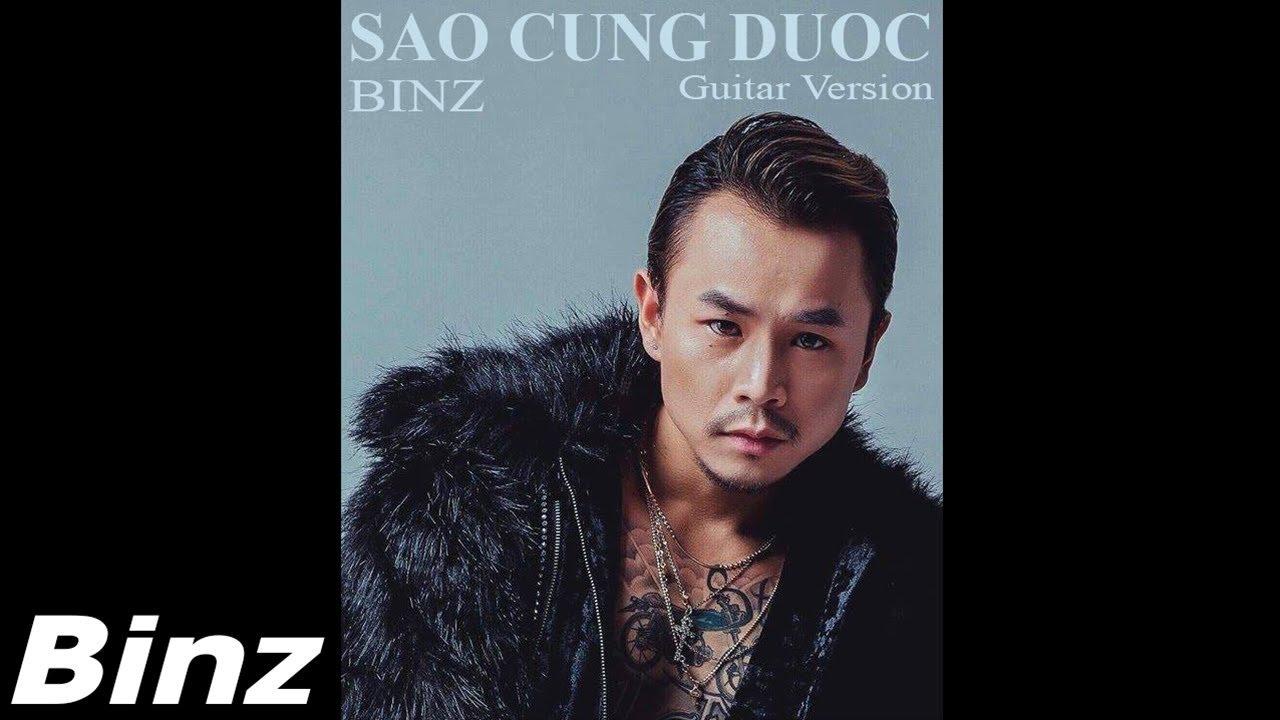 Binz – Sao Cũng Được (Audio)   Guitar Version   1 Hours