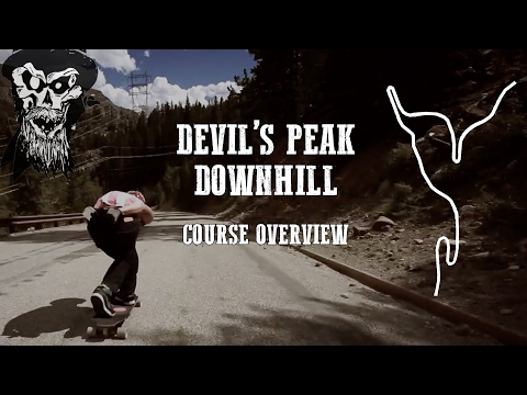 Devil's Peak Downhill Course Overview with Tanner Morelock