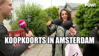Run op slipjes in Amsterdam