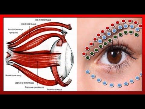 ВЕРНЁТЕ ЗРЕНИЕ вернув эластичность МЫШЦАМ ГЛАЗ / точечный массаж и упражнения для глаз