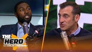 Greg Jennings weighs in on whether Aaron Rodgers is coachable | NFL | THE HERD
