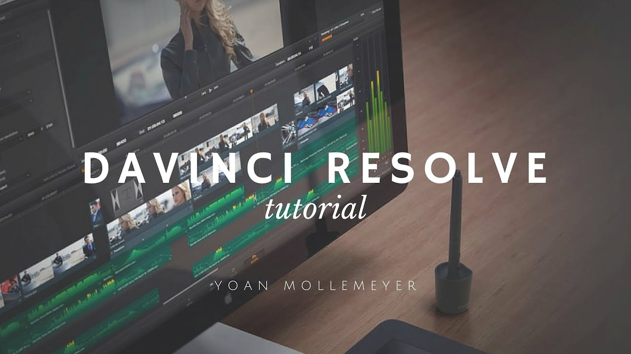 Getting started with davinci resolve 10: tutorial 01 on vimeo.