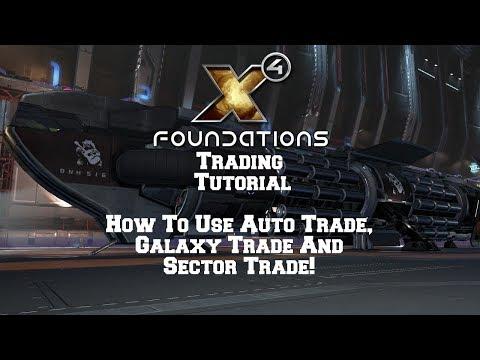 Auto,Galaxy,Sector Trading Tutorial X4 Foundations.