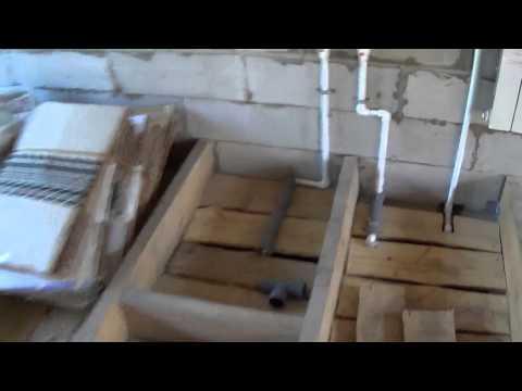 видео: Черновой пол и ЭКОВАТА