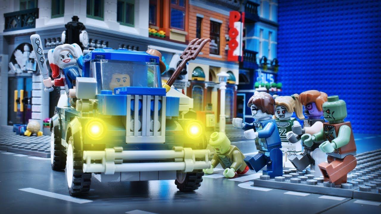 Lego ZOMBIE Apocalypse City Attack | Episode 1: The ...
