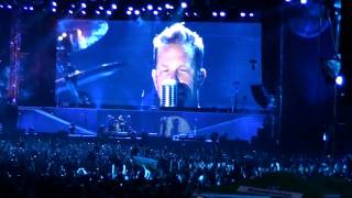 METALLICA LIVE2010, NOTHING ELSE MATTERS, LONG INTRO BY KIRK HAMMET, SOFIA,BULGARIA,1080pHD