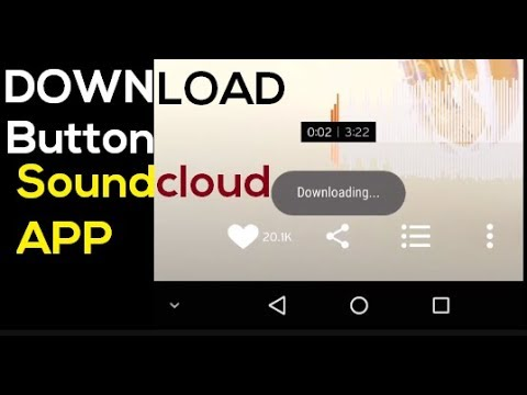 [Xposed] Download Button in Soundcloud App