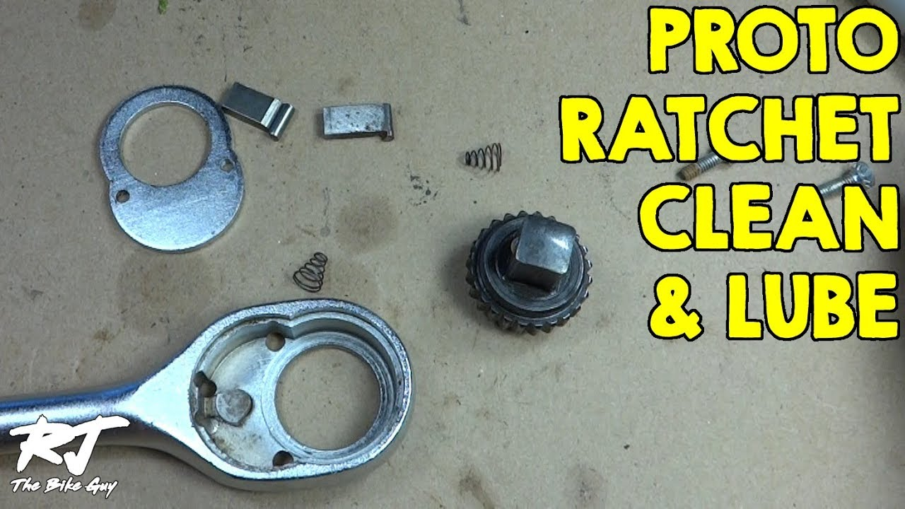 How To Clean Lube Vintage Proto Ratchet Wrench 5449