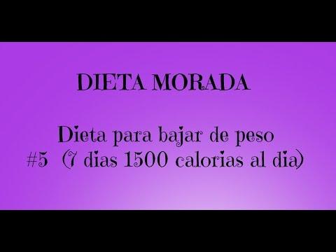 dieta de 1600 calorias diarias para adelgazar