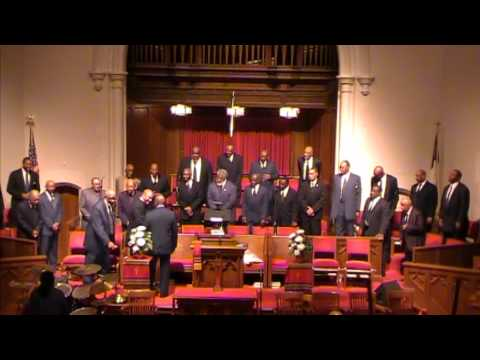 Old School Gospel Medley-1st Baptist DC - Male Chorus