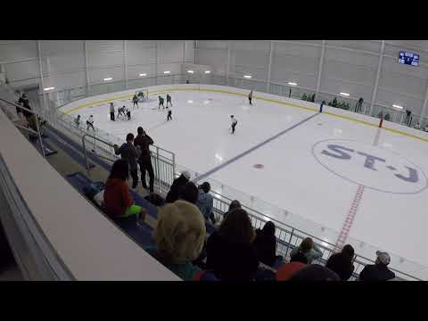 The St James U14 Bantam V Arlington 9/15/18 1st Period