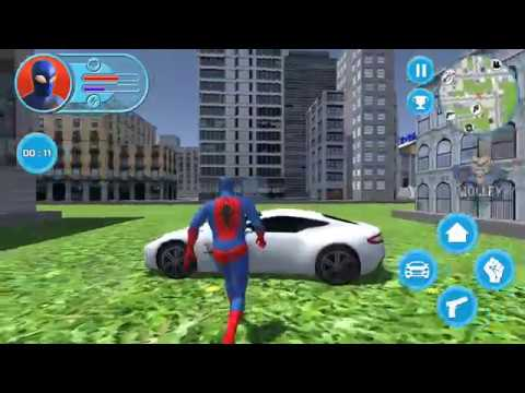 Strange Hero: Future Battle | Android Gameplay FHD – Real Life Superhero Spiderman Simulator Games